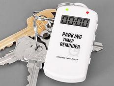 Parking Timer Reminder Pacing Timer on Keyring