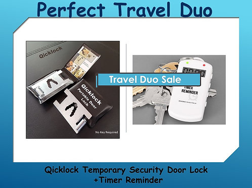 Special Twin Product Pack- Lock and Timer