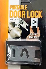 Wholesale Portable Door Lock Blister Pack