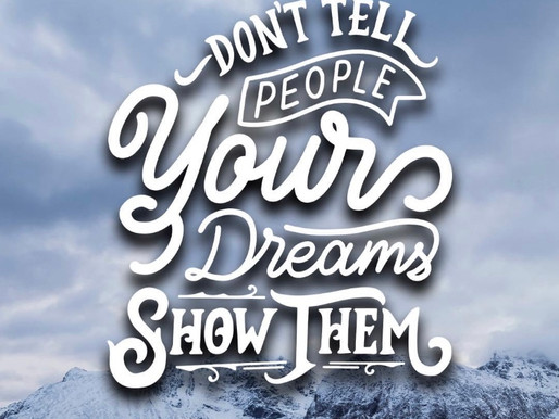 Live the life you dream of!! Make it happen!!