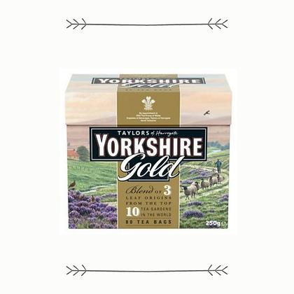 Yorkshire Gold Tea - 80 Bags