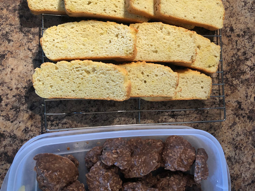 Healthy keto bread and nutrient packed keto bombs