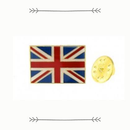 Union Jack Metal Pin Badge