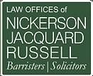 Nickerson Jacquard Russell Logo