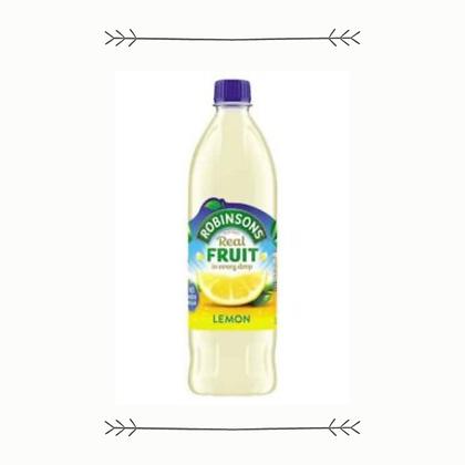 Robinsons Cordial - Lemon Barley