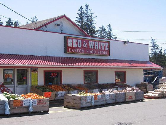 Dayton Red & White