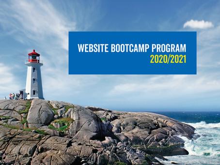 Website Bootcamp Program Applications Open