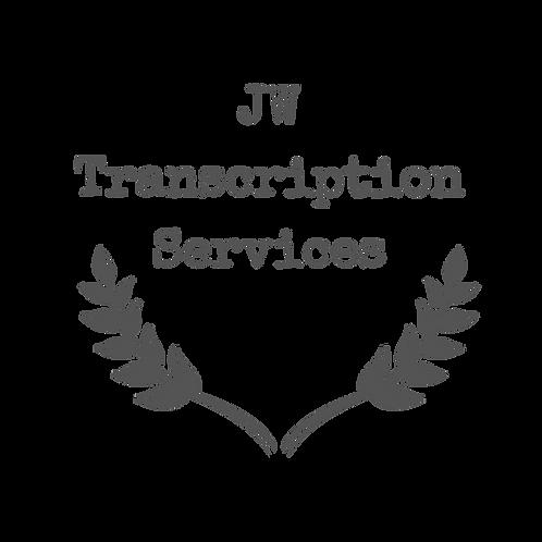 JW Transcription Services