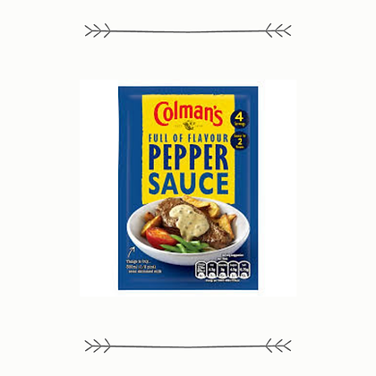 Colman's Pepper Sauce