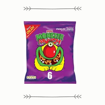 Monster Munch - Grab Bag - Pickled Onion