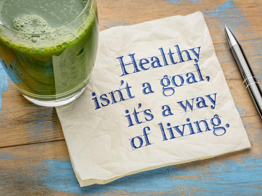 Weight loss is ONE of the many benefits of a healthy body.