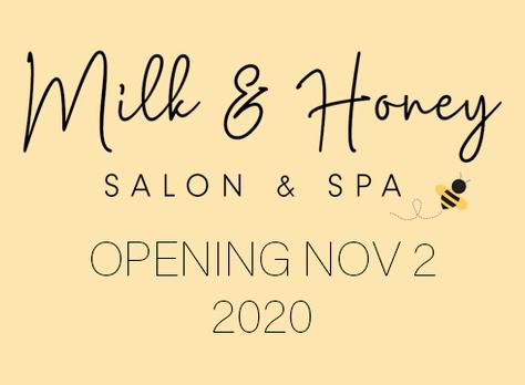 Milk & Honey Salon & Spa Website Launch