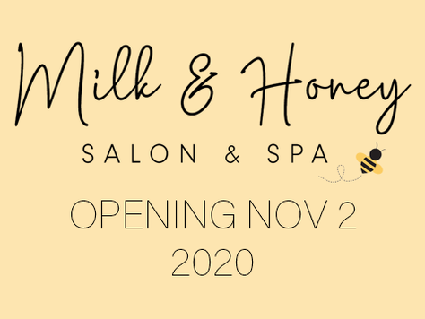 Milk & Honey Salon & Spa Website Launch