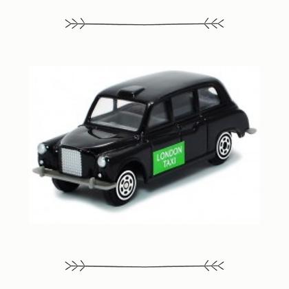 Die-cast Metal London Black Cab Model