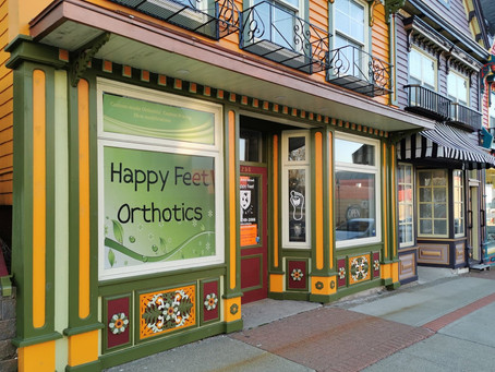 Happy Feet Orthotics | All-New Website