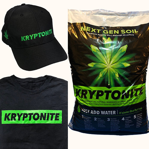 Kryptonite Soil & Apparel Package