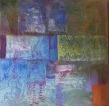 Non Representational oil on canvas 12x12