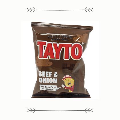 Tayto -Beef and Onion