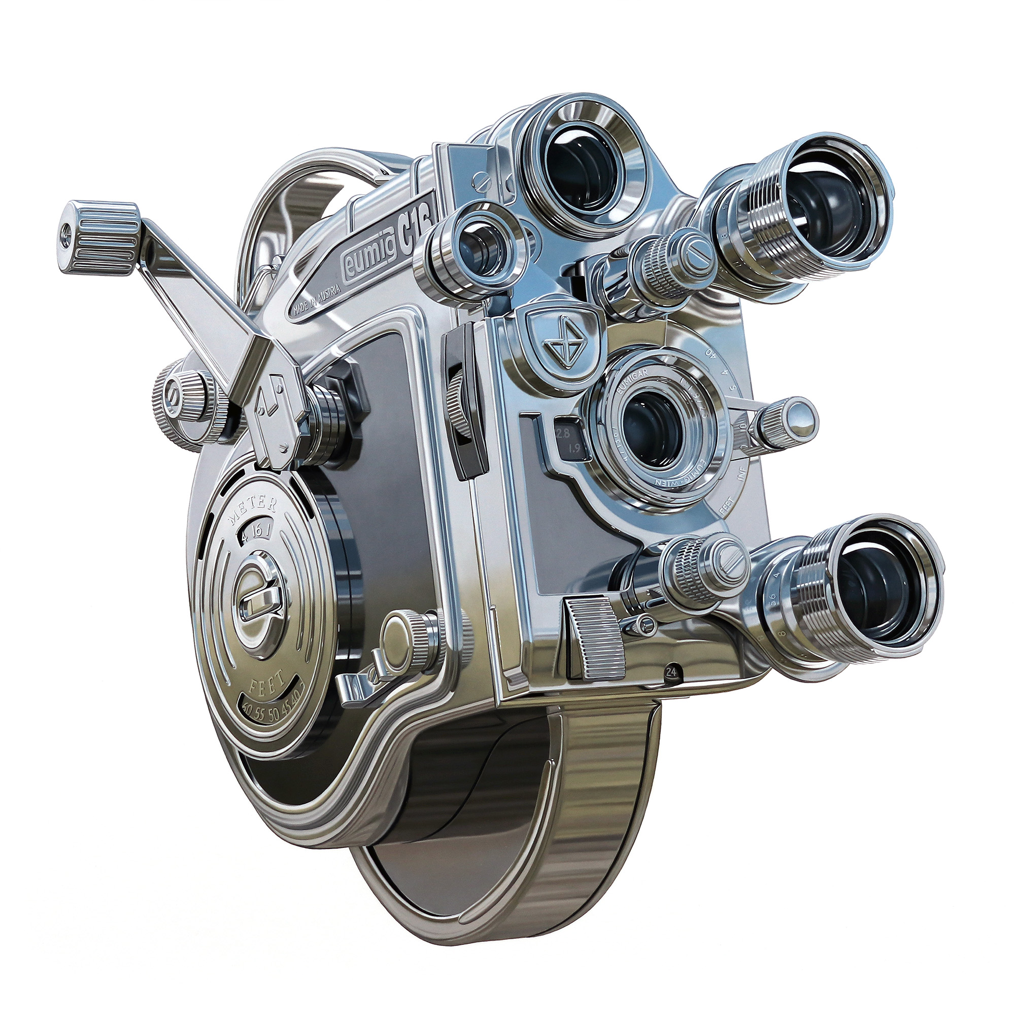 Steel Eumig Camera