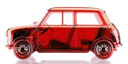 Clear Red Mini