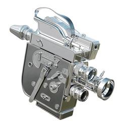 Steel Bolex Camera