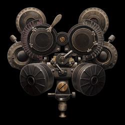 Phoropter Gas Mask