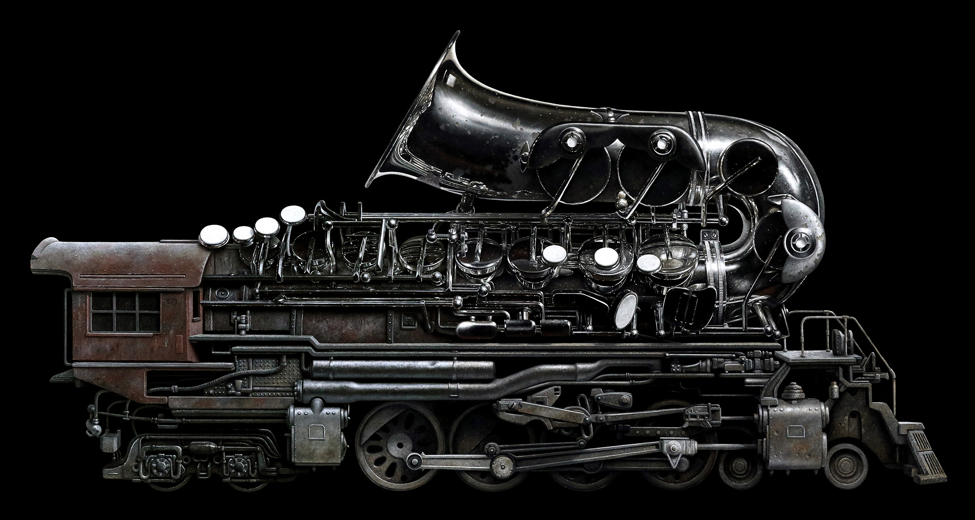 Brass Locomotive