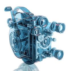Glass Eumig Camera