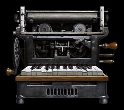 Printing Press Piano