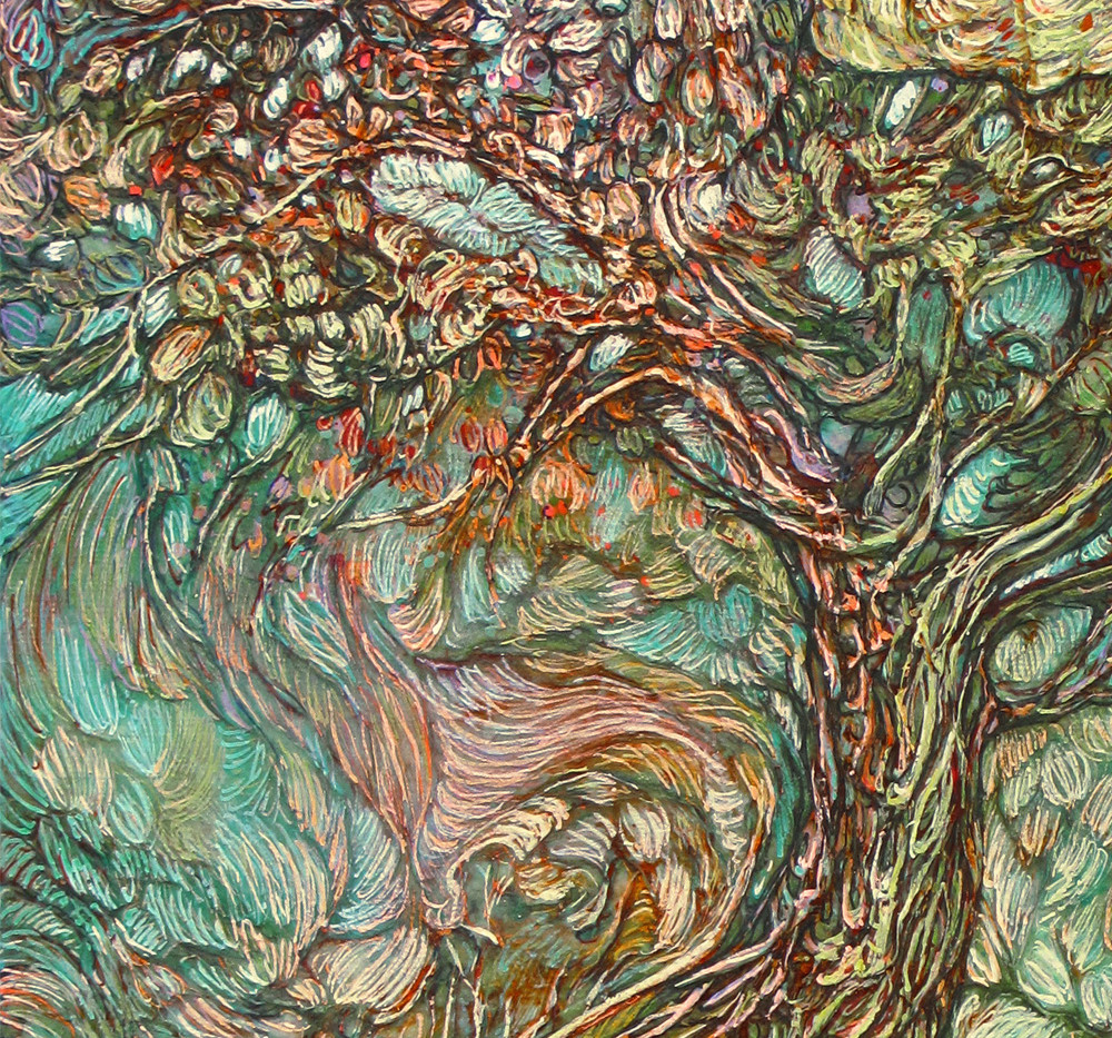 On the Wave of a Wind (detail)
