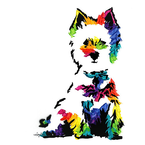 Mary the West Highland Terrier