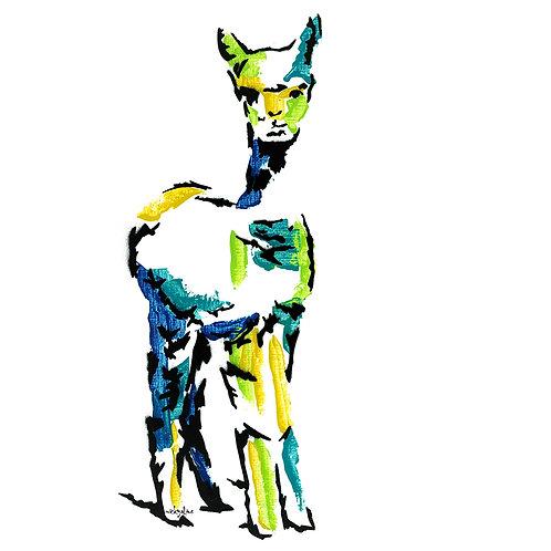 Esme the Alpaca