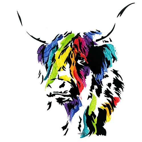 Malorie the Highland Cow
