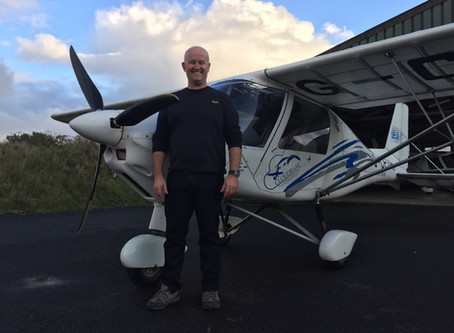 First Solo for John!
