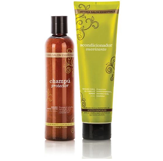 dōTERRA Salon Essentials® Champú Protector y Acondicionador Suavizante