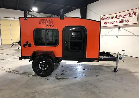 Outbound Extreme Travel Trailer - Orange