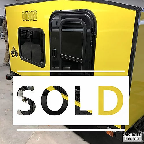 Outbound Travel Trailer - Yellow