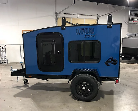 Outbound Extreme Travel Trailer - Heron Blue