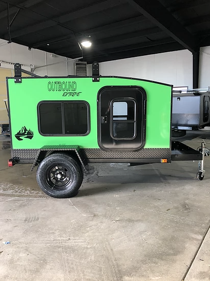 Outbound Extreme Travel Trailer - Extreme Green