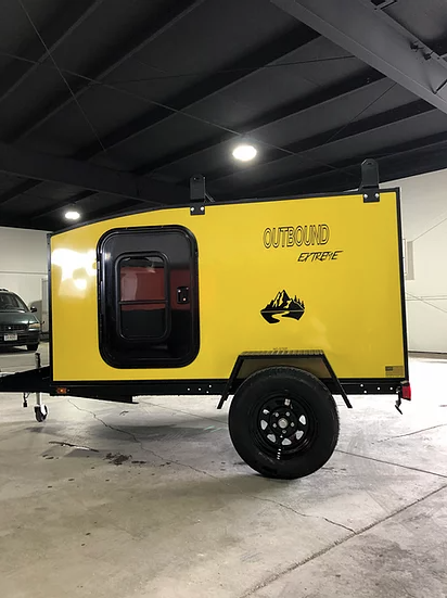 Outbound Extreme Travel Trailer - Yellow
