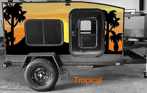 Tropical Wrap