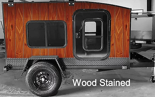 Wood Stained Wrap