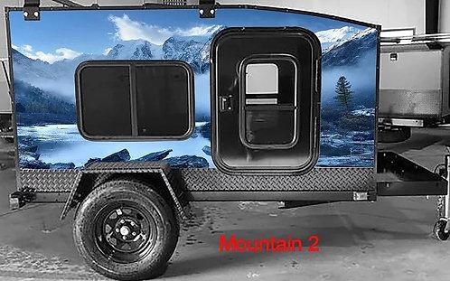 Mountain #2 Wrap