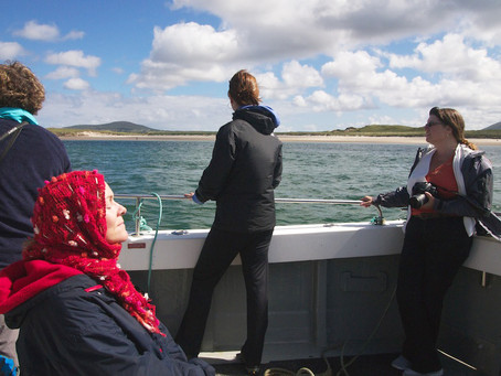 Irish island journey of discovery             for participants at 'Ireland Writing Retreat'