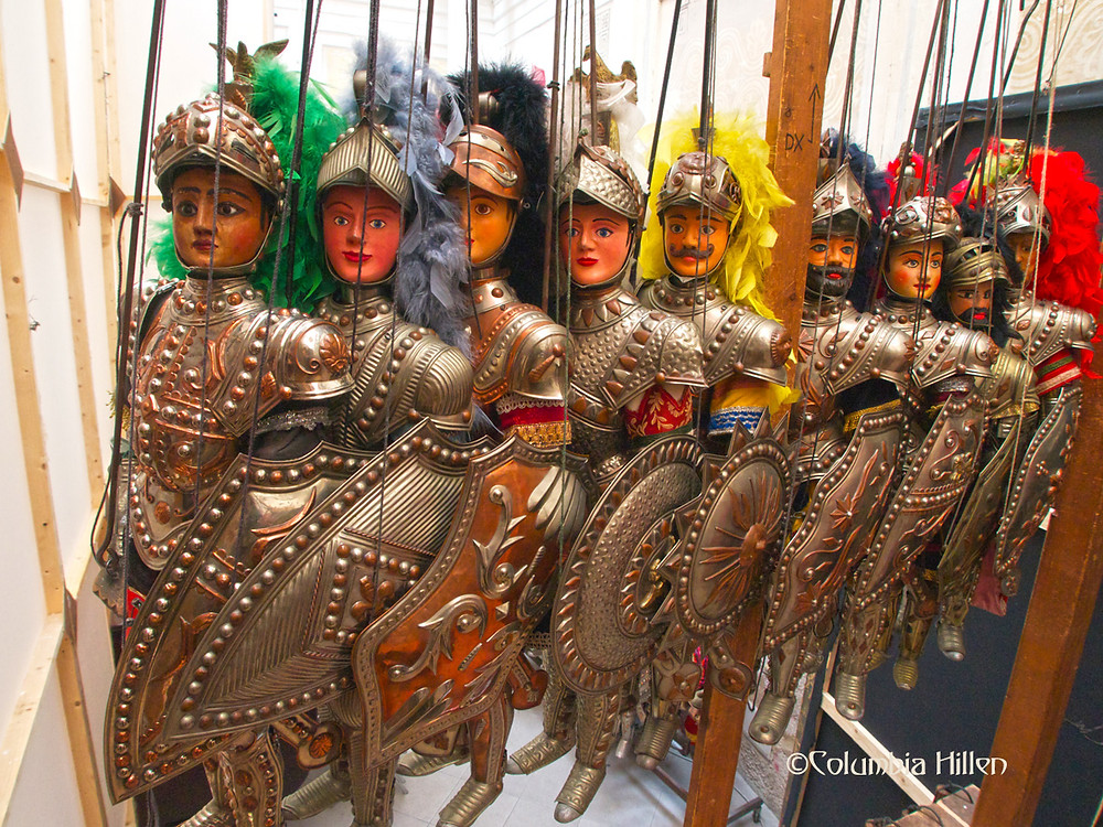 Museo delle Marionette sicily, columbia hillen travel photography