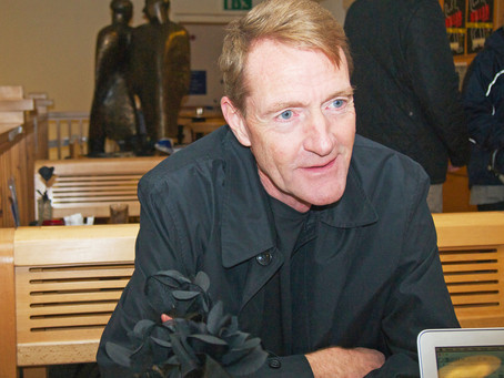Being fired helped me, says crime writer, Lee Child, creator of 'Jack Reacher'