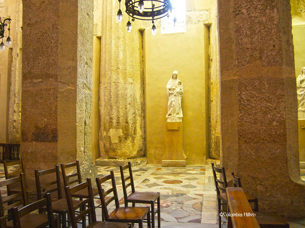 cathedral in ortigia photography, columbia hillen travel photography