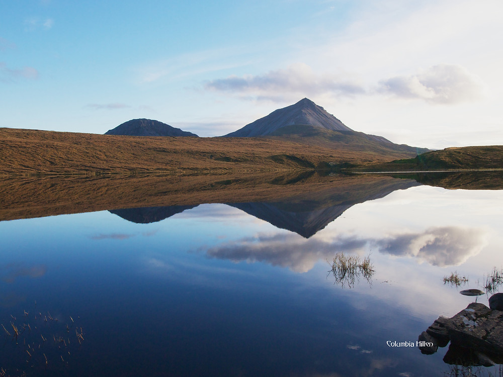errigal mountain donegal, donegal photos, columbia hillen photography