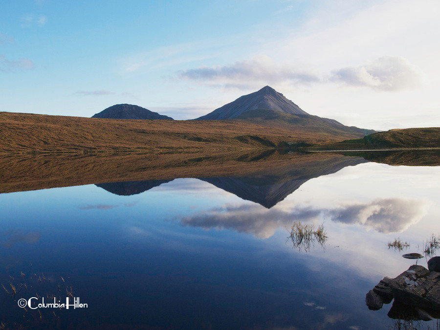 errigal mountain photo, columbia hillen photography