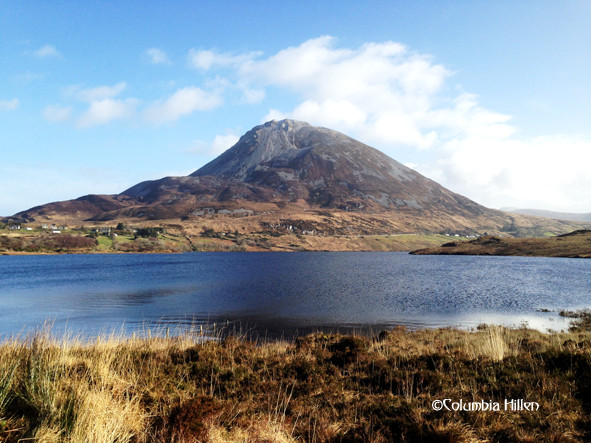 errigal mountain, mount of lugh, donegal wild atlantic way
